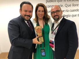 Javier Camarena acompañado de Greta Shelley (Spinto) e Igor Lozada (Cultura UDG)