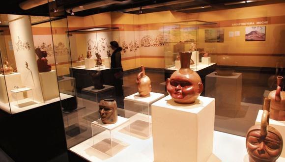 Piezas arqueológicas recuperadas por Perú