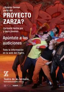 Convocatoria Proyecto Zarza del Teatro de la Zarzuela